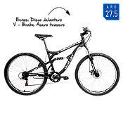 Bicicleta Hombre Sierra Negro Aro 27