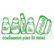 Vinilo Condimentos Verde Claro Medida M