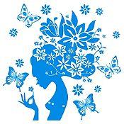 Vinilo Gaia Azul Claro Medida M