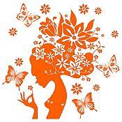 Vinilo Gaia Naranja Medida G