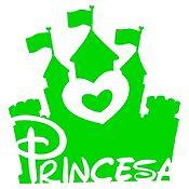 Vinilo Princesa Verde Claro Medida M