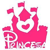 Vinilo Princesa Fucsia Medida G
