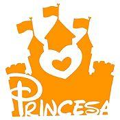 Vinilo Princesa Naranja Medida M