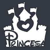 Vinilo Princesa Blanco Medida M