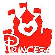 Vinilo Princesa Rojo Medida G
