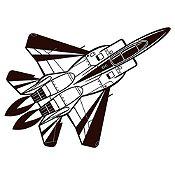 Vinilo Avión Negro Medida P