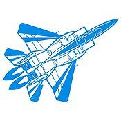 Vinilo Avión Azul Claro Medida G