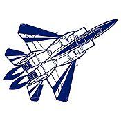 Vinilo Avión Azul Oscuro Medida M