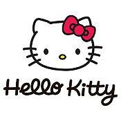 Vinilo Hello Kitty Negro, Rojo Medida G