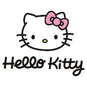 Vinilo Hello Kitty Negro, Rosado Medida M