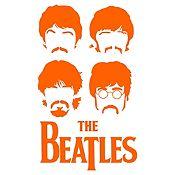Vinilo The Beatles Naranja Medida M
