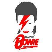 Vinilo David Bowie Gris Oscuro, Rojo Medida G