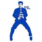 Vinilo Elvis Presley Azul Medio Medida G