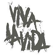 Vinilo Coldplay Viva La Vida Gris Oscuro Medida M