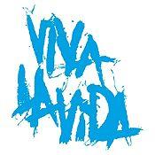 Vinilo Coldplay Viva La Vida Azul Claro Medida M