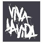 Vinilo Coldplay Viva La Vida Blanco Medida P