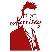 Vinilo Morrisey Vinotinto Medida P