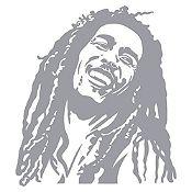 Vinilo Bob Marley Plata Medida P