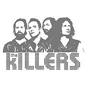 Vinilo The Killers Gris Oscuro Medida M