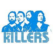 Vinilo The Killers Azul Claro Medida G