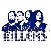 Vinilo The Killers Azul Oscuro Medida G