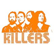 Vinilo The Killers Naranja Medida M