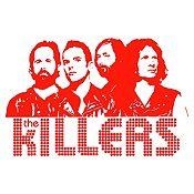 Vinilo The Killers Rojo Medida M