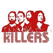 Vinilo The Killers Vinotinto Medida P