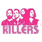 Vinilo The Killers Fucsia Medida P