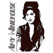 Vinilo Amy Winehouse Negro Medida M