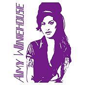 Vinilo Amy Winehouse Morado Medida P