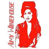Vinilo Amy Winehouse Rojo Medida M