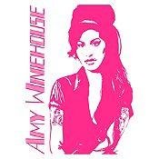 Vinilo Amy Winehouse Fucsia Medida P