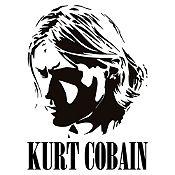 Vinilo Kurt Cobain Negro Medida P