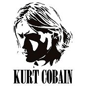 Vinilo Kurt Cobain Negro Medida M