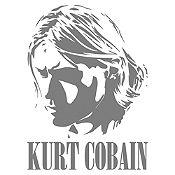 Vinilo Kurt Cobain Gris Oscuro Medida P