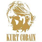 Vinilo Kurt Cobain Dorado Medida P