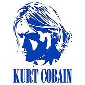 Vinilo Kurt Cobain Azul Medio Medida P