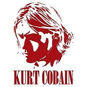 Vinilo Kurt Cobain Vinotinto Medida P