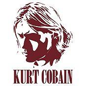 Vinilo Kurt Cobain Marrón Medida P