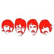 Vinilo The Beatles Rojo Medida P