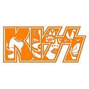 Vinilo Kiss Naranja Medida P