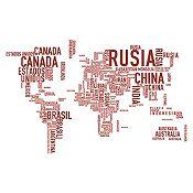 Vinilo Países del Mundo Vinotinto Medida M