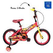 Bicicleta de Increíbles Aro 16'' Rojo