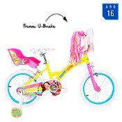 Bicicleta de Soy Luna Aro 16'' Amarillo