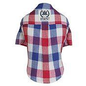 Camisa a Cuadros Rojo y Azul