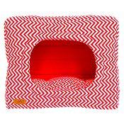 Cama Cubo 2 en 1 Talla M Rojo