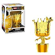 Pop Groot Chrome