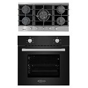 Combo Cocina Empotrable Petra + Horno Eléctrico Black Oven X