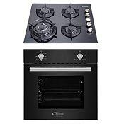 Combo Cocina Empotrable Gia X + Horno Eléctrico Black Oven X